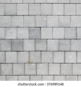 concrete tiled pavement background
