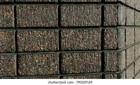 Concrete wall block