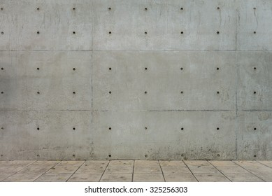 Concrete Wall and Cement Floor for Copy Space