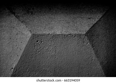 Concrete wall. Image includes a effect the black and white tones.