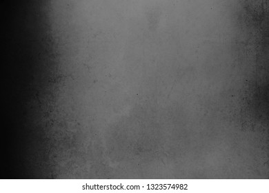 Concrete wall / stone wall in black and dark gray - set