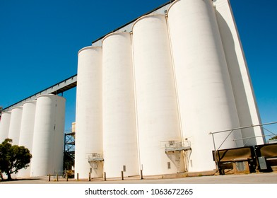 Concrete Wheat Silos - Tammin - Western Australia