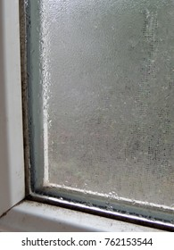 Condensation on plastic frame window