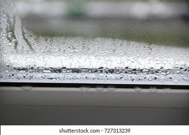 Condensation on the window