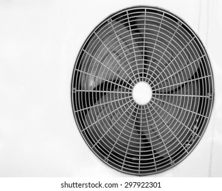 Condenser fan air through the use of old rust.