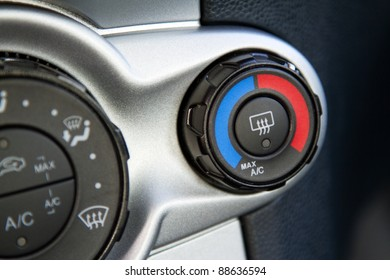 Conditioner and air flow control in a modern car