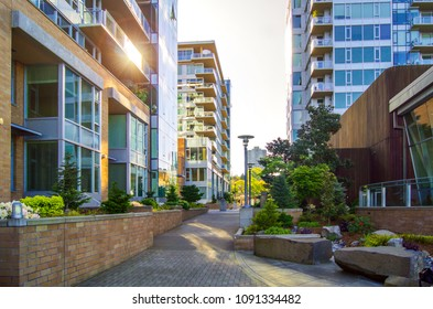 Condo District on Portland Oregon