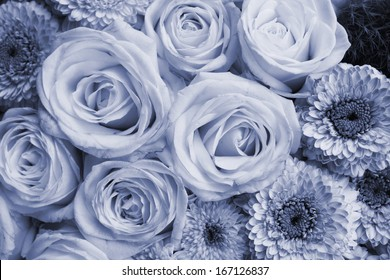 condolences card background - roses