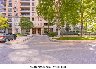Condominium entrance