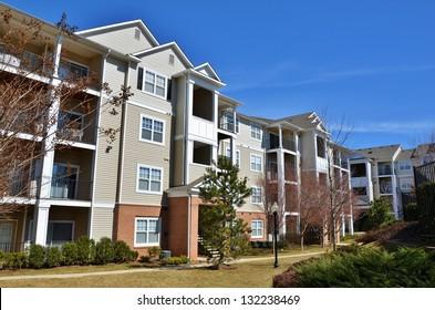 Condominium Garden Style Complex in Maryland, USA