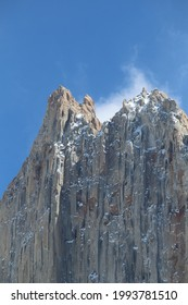 Condor nest at Torres del National Park in Chilean Patagonia