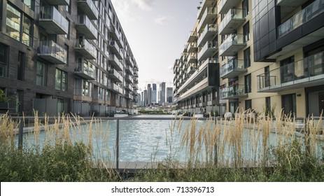 Condos, apartments