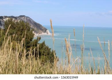 Conero coast and Ancona