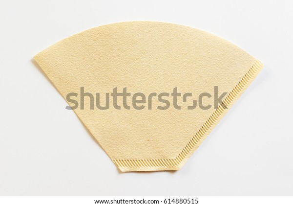 Conetype Coffee Filter Pour Over Coffee Stock Photo Edit