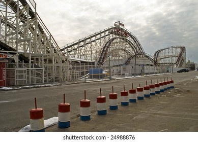 CONEY ISLAND, BROOKLYN, NY, FEBRUARY 2009: The Municipal Art Society, a nonprofit city advocacy group is trying to preserve the unique seaside city of Coney Island as a popular tourist destination.