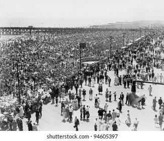 Coney Island, NY, on July 4, 1936