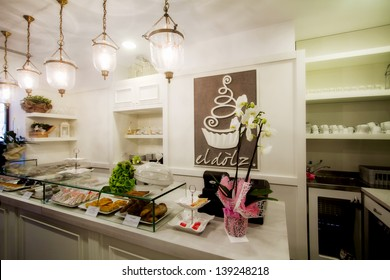 confectioner's shop elegant interiors