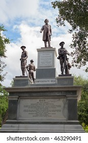 Confederate Soldiers Monument in Austin , Texas, USA