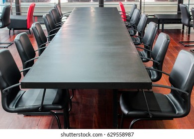 Conference Area, Table and chair.
