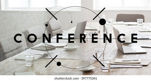 Conference Meeting Seminar Corporate Business Concept