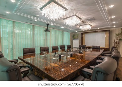 Conference room in the business center