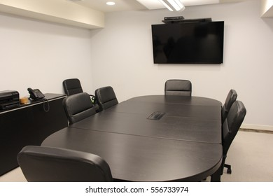 Conference room in business office