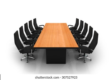 conference table and chairs