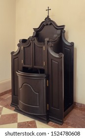 Confessional in the catholic church
