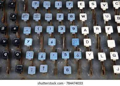 Confessional Keyboard Layout