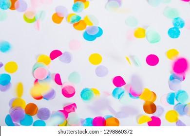 Confetti Canon Explosion