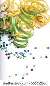 Confetti & Serpentines