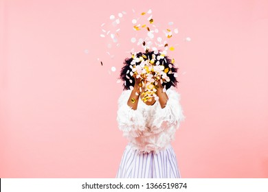 Confetti throw- celebrate happiness