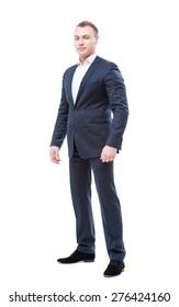 b3aeae194c9 Fat Overweight Businessman Stylish Suit Standing Stock Photo (Edit ...