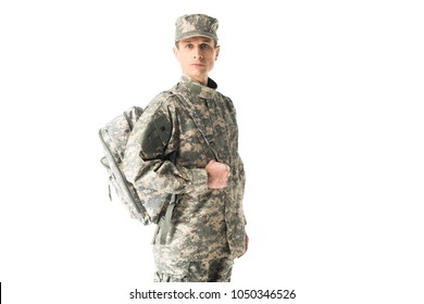 Army Backpack Stock Images Royalty Free Images Amp Vectors