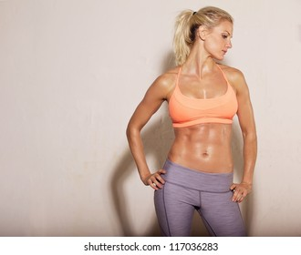 Woman Abs Images Stock Photos Vectors Shutterstock Genetically, women have a disadvantage when it comes to that. https www shutterstock com image photo confident athletic woman sixpack abs posing 117036283