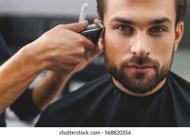 Haircut Images Stock Photos Vectors Shutterstock