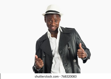 Confident Happy Young African American Man