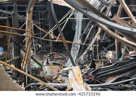 Marvelous Conflagration Fire Damaged Summer House After Stock Photo Edit Now Wiring Digital Resources Remcakbiperorg