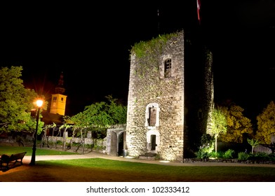 Conflans tower in Savoy