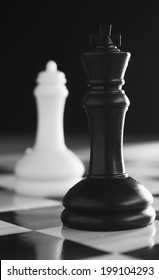 Conflict chess concept