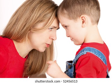 Conflict with mother and son
