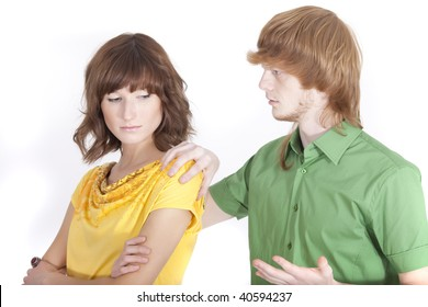 conflict situation between couple