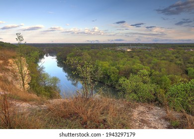 Confluence of the Brazos and Bosque rivers, Waco Texas