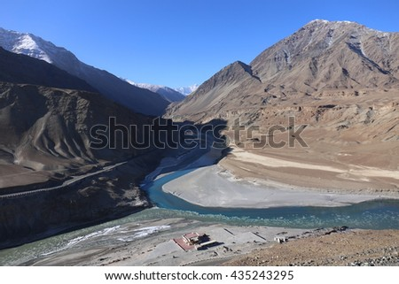 the main rivers of india