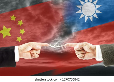 Confrontation and enmity between China and Taiwan. Conflict and stress in the international policy