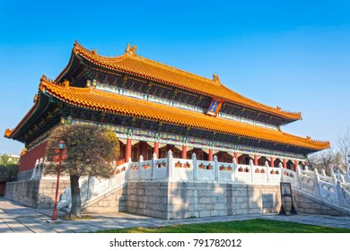 Confucian Temple (Temple of Confucius), located in Harbin City, Heilongjiang Province, China.