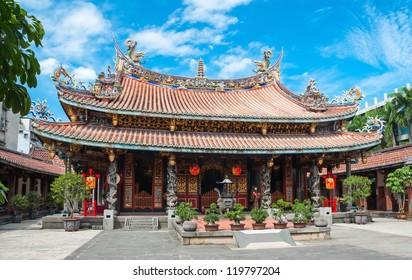 Confucius  temple in Taipei, Taiwan