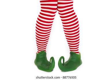 Confused elf's legs