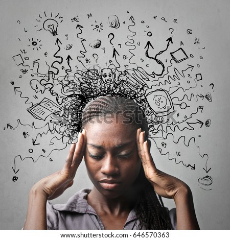 confusion my head stock photo edit now 646570363 shutterstock