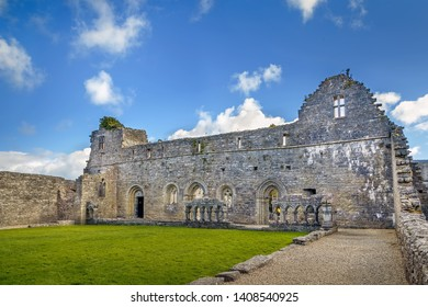 Cong Abbey also known as the Royal Abbey of Cong, is a historic site located at Cong, Ireland. The ruins of the former Augustinian abbey mostly date to the 13th century